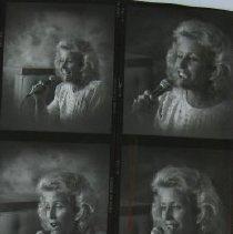 Image of 4692 - Photo proofs & negatives of Barbara Sandbeck.