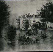 Image of 2724 - Gravelly Farm watercolor - Done 7-12-1892