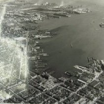 Image of 3819 - Baltimore Harbor and industrial area
