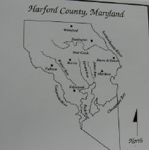 Image of 1990 - Map of Harford County