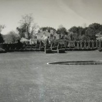 "Image of 2121 - Ladew Gardens - ""Great Bowl""; Detail description on reverse."