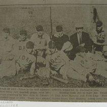 Image of 1600 - 1912 Darlington baseball team