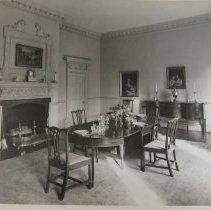 Image of 1053 - Hammond-Harwood House dining room, Annapolis, MD