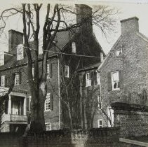 Image of 1061 - Carvel Hall Hotel, Governor William Paca House, Prince George Street, Annapolis, MD, built in 1763
