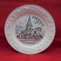 Image of 2012.4.029 - Plate, Commemorative