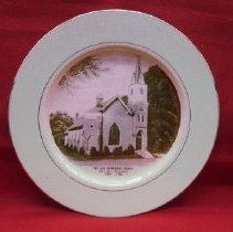 Image of 2012.4.038 - Plate, Commemorative