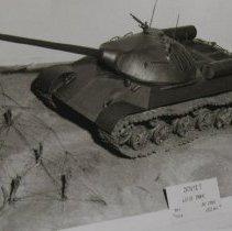 Image of 7000 - APG: Ordnance Museum; scale model of Soviet JS 111 tank