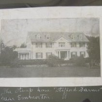 """Image of 878 - """"Stafford Farms,"""" the Stump Home near Emmorton; Summer House at Maxwell Point; Powder Magazine"""