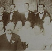 Image of 3561 - Crockett and Powell Families at Milton William Poteet - Florence Cooksey wedding.