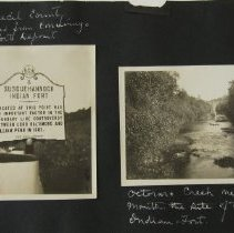 """Image of 497 - Historic Markers: Cecil County: Route 273, """"Blue Ball Tavern""""; Cecil County: Route 222, """"A Susquehanna Indian Fort"""" Octoraro Creek"""