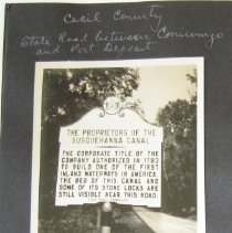 "Image of 517 - Historic Markers: Caroline County: Routes 404 and 313, ""Denton"" (Aka ""Edenton""); Frederick County: Route 240, ""Amelung Glass Works"" and photo of John Frederick Amelung's house; Montgomery County: Route 107, ""Woodstock"" (Aka ""Monte Video"") and photo of the house; Cecil County: State road between Conowingo and Port Deposit, ""The Proprietors of the Susquehanna Canal""."