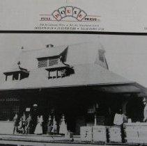 Image of 3201 - Van Bibber Station - 1890