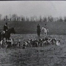 Image of 3205 - Hunting Scene - Monkton