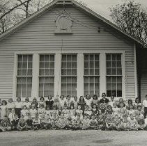 Image of 1508 - Fallston Elementary School pupils and teachers, May 1953