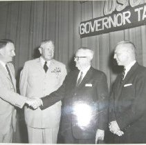 Image of 248 - Millard Tawes, Governor of Maryland and unidentified men