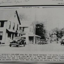 Image of 1448 - Business downtown section of yesterday's Darlington ca. 1929.