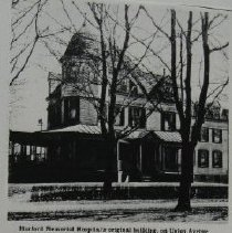 Image of 1440 - Harford Memorial Hospital original building on Union Ave., Havre de Grace