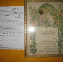 Image of 2012.4.117 - Certificate, Commemorative