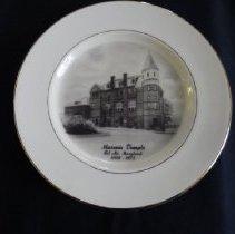 Image of 2013.4.209 - Plate, Commemorative