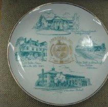 Image of 2013.4.219 - Plate, Commemorative