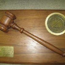 Image of 2013.4.249 - Block, Gavel