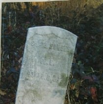 Image of 3271 - Santa Bowser Tombstone, St. James AME Cemetery, Gravel Hill