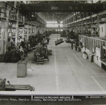 Image of 7099 - General Machine Shop, Service Branch, Materials and Facilities, APG