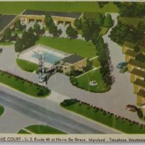 Image of 1231p - Chesapeake Court - US Route 40 at Havre de Grace, Telephone Westmore 9-4567