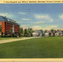Image of 914p - APG Hospital & Officers' Quarters