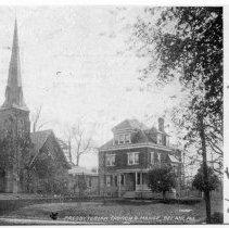Image of 1195p - Bel Air Presbyterian Church and Manse.