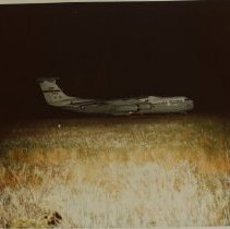 Image of 7322 -    Aberdeen Proving Ground, Air Force C141 Cargo Plane at Phillips Air Field, c. 1975    Aberdeen Proving Ground, Commanding General's Quarters, 1963