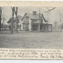 Image of 1376p - Tudor Hall, The Historical Booth's House, near Bel Air, Md