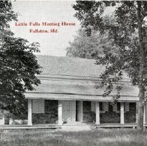 Image of 1451p - Little Falls Meeting House, Fallston, Md