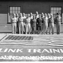 Image of 8879 - Graduating class at Libby Army Airfield on April 18, 1944