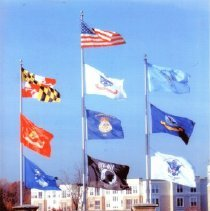 Image of 8896 - Greenhaven flag poles