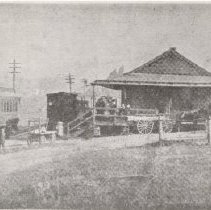 Image of 1594p - Delta Station, Ma and Pa Railroad, 1900s