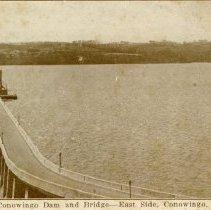 Image of 1625p - Conowingo Dam & Bridge, East Side, Conowingo, Md.