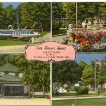 Image of 1721p - Del Haven Hotel & Cottages, on U.S. 1, 23 miles north of Baltimore, MD