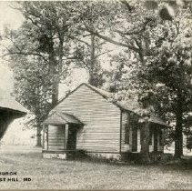 Image of 1725p - Old Methodist Church, Forest Hill, MD