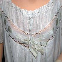Image of Nightgown neckline detail