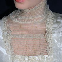 Image of Wedding Gown collar