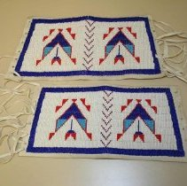 Image of Beaded Armbands with Geometric Design