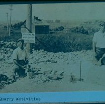 Image of Perry Quarry quarrymen, n.d.