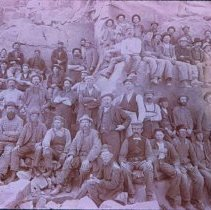 Image of Quarry crew posing in East Sioux Falls, n.d.
