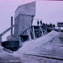 Image of East Sioux Falls stone crusher, n.d.