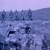 Image of WPA workers at Rowena Quarry on Guy Webster farm, ca. 1930s