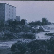 Image of Queen Bee Mill and Falls, n.d.