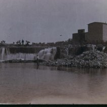 Image of Second Falls north of Queen Bee, n.d.