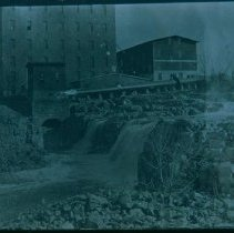 Image of Sioux Falls and Queen Bee Mill, ca. 1912