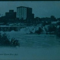 Image of Sioux Falls and Queen Bee Mill, n.d.